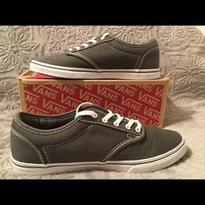 Vans Off the Wall Gray Authentic Shoes